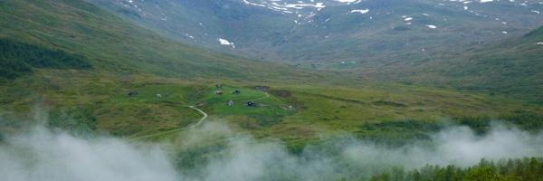 Myrkdalen vue sur la vallée