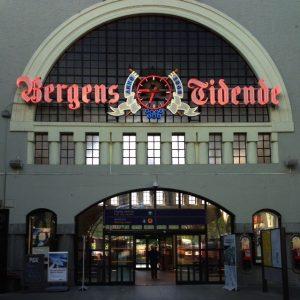 Norvège - Gare de Bergen