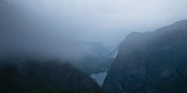 Norvège Vue sur les fjords