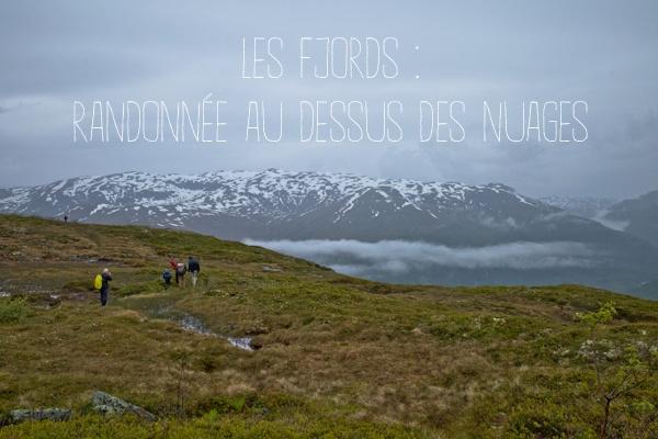 Norvège Murkdalen Sur le plateau au dessus des nuages