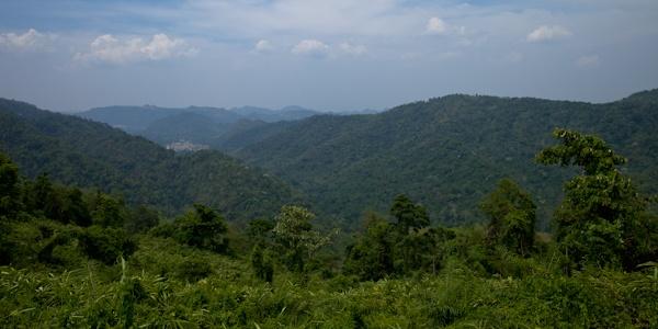 Thailande Vue sur le parc de Kao Yai