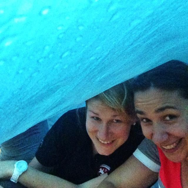 Sous la tente dans les Apennins