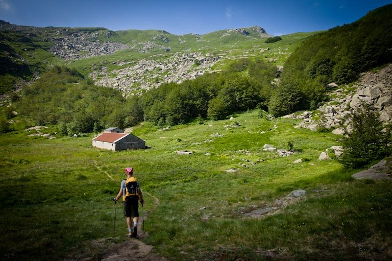 Randonnée en Italie - La plaine avant la montée vers le Mont Matto