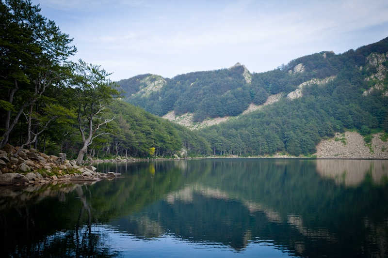 Randonner en italie - Le Lago Santo