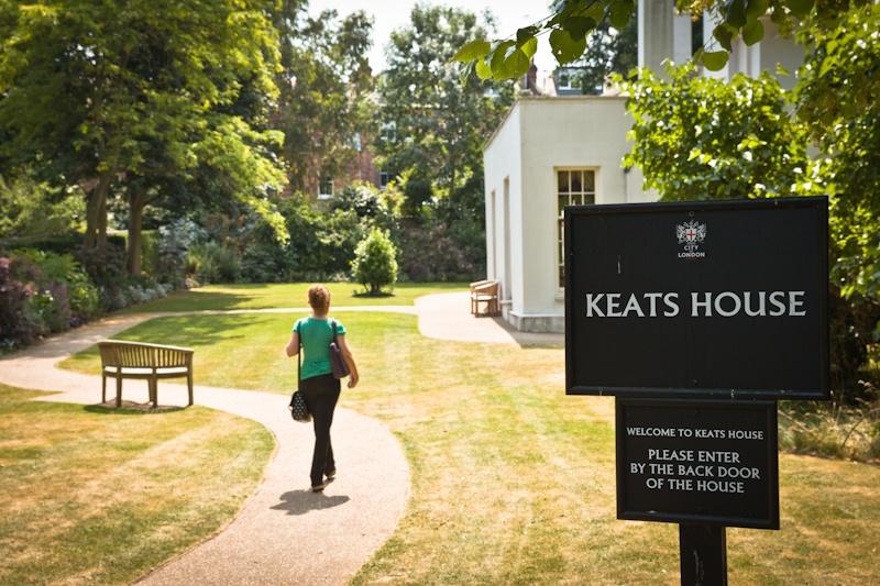 Visiter Londres - dans les jardins de Keats House