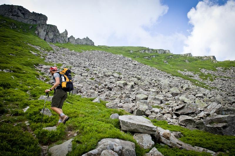 Randonner en Italie - Montée vers le mont Matto