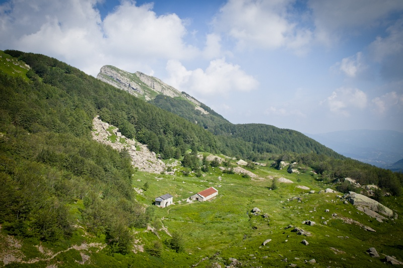 Randonnée en Italie - Refuge dans le parc des 100 lacs