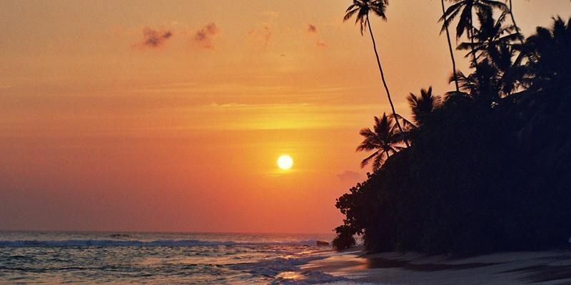 Sri Lanka - Coucher de soleil