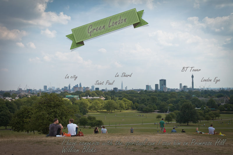 Visiter Londres : green promenade
