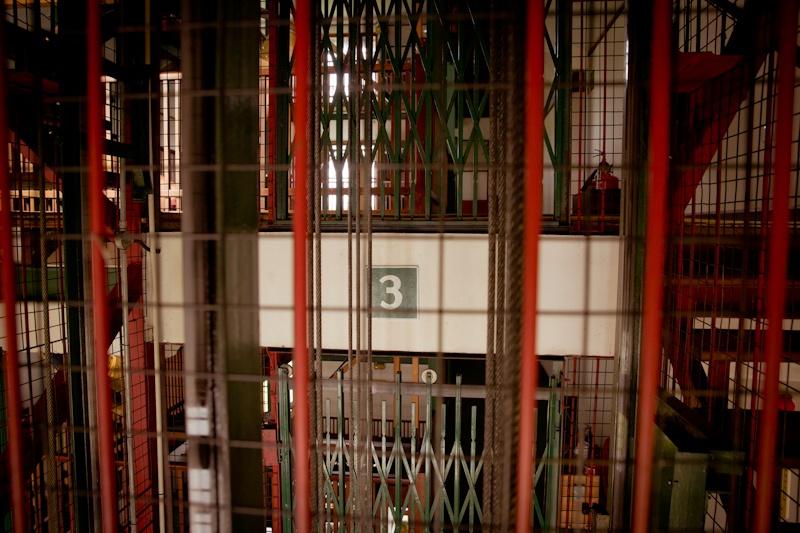 Heritance Tea factory - intérieur ascenseur