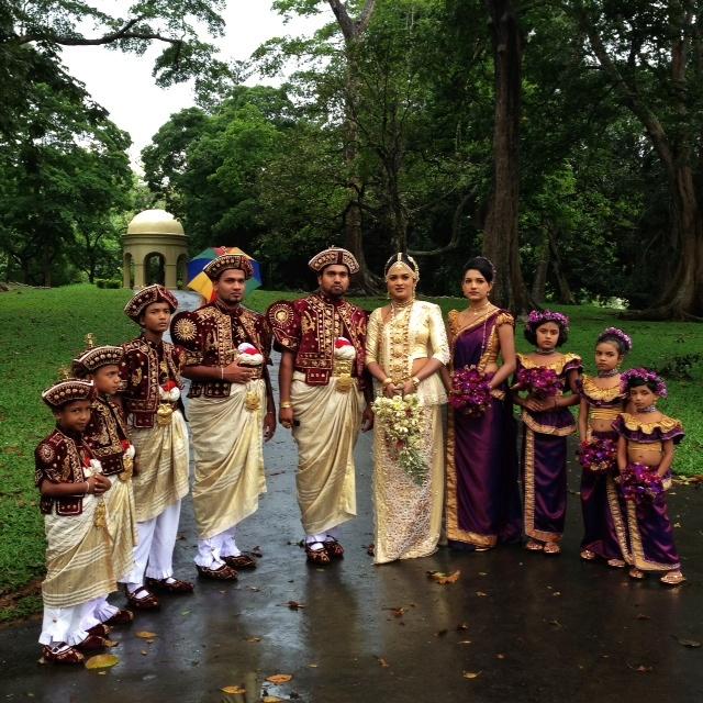 Jour de mariage au Sri Lanka - A kandy