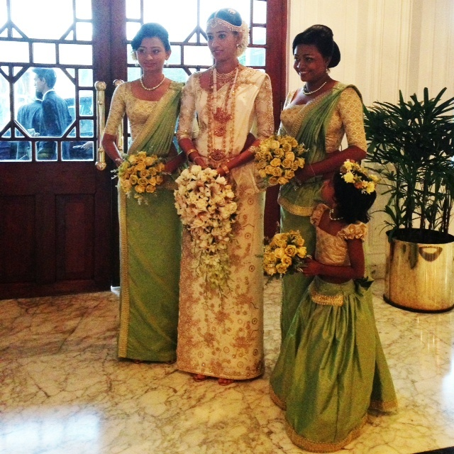 Jour de mariage au Sri Lanka au Mount Lavinia hotel