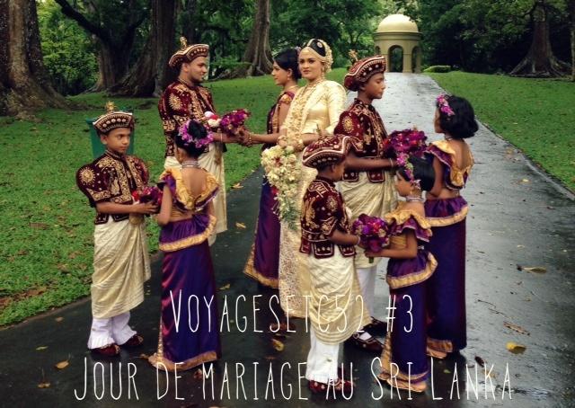 Jour de mariage au Sri Lanka