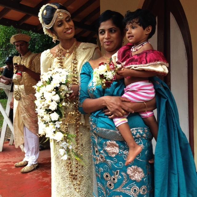Mariage au Sri Lanka - A l'abri de la pluie