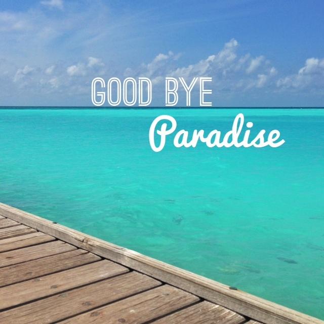 Club Med Kani - Good bye paradise