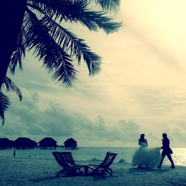 Club Med Kani - Les mariés