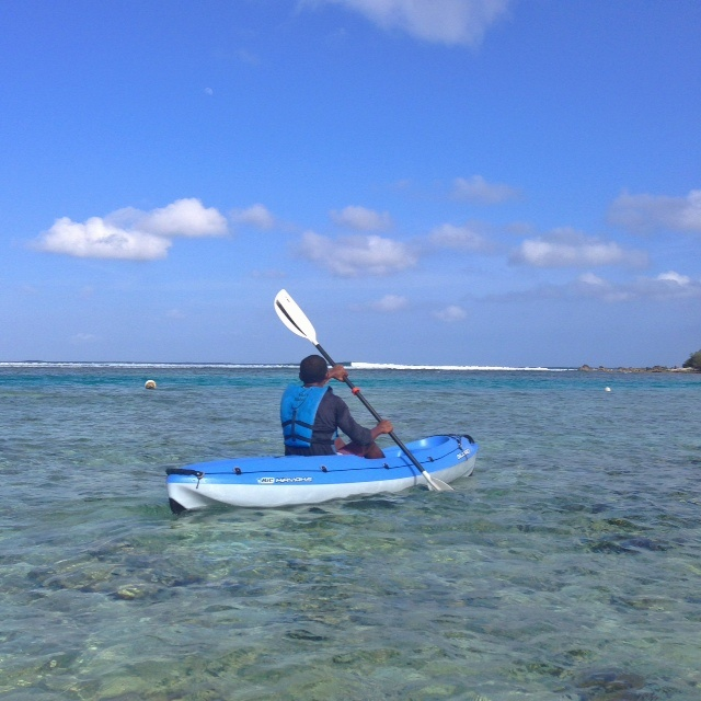 Club med kani - Go en kayak
