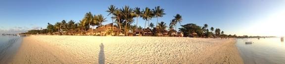 Ile maurice - Coucher de soleil sur la plage de trou aux biches