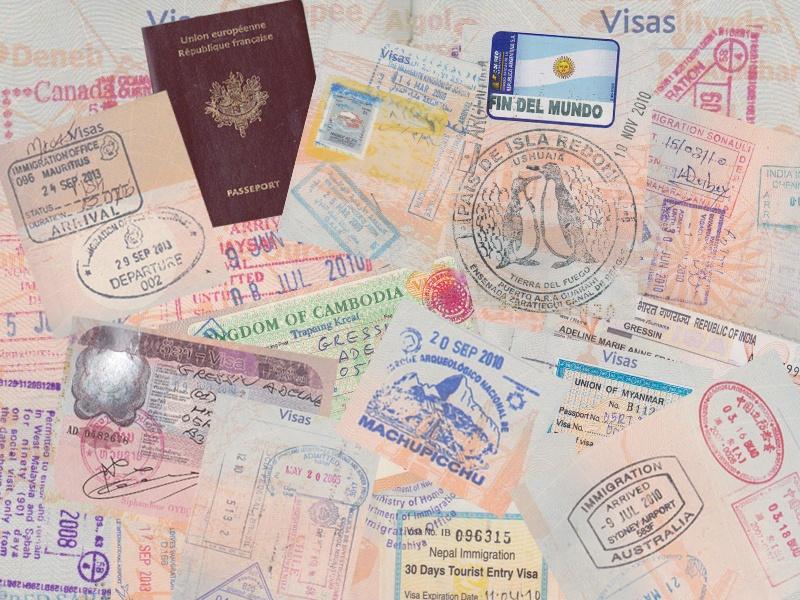 Mon passeport mes visas