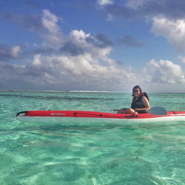 Kayak au club med Kani