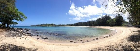 Panoramique sur l'ile Maurice - Première vue