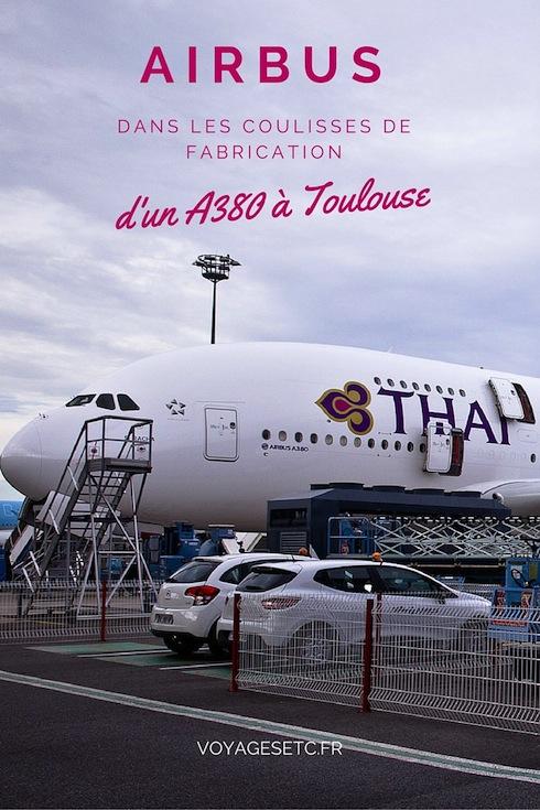Je vous emmène dans les coulisses de fabrication d'un A380 au siège d'Airbus à Toulouse. Visite guidée au coeur des maquettes, du service design et de la chaine de montage