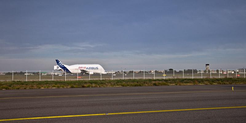 Airbus A380 - Envol du Beluga