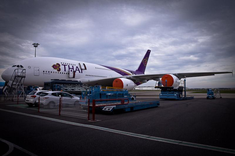 Airbus A380 Thai airways 1