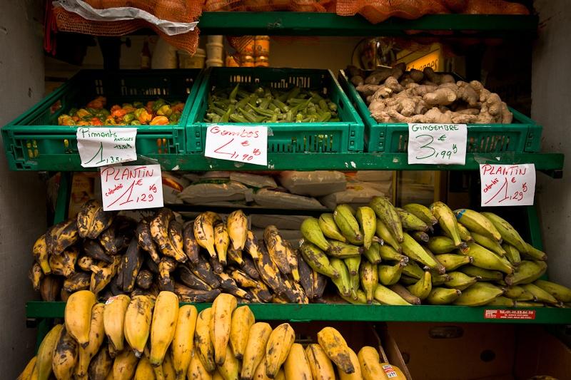 Voyage au mali - fruits et légumes