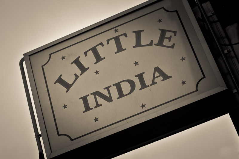 Voyage en Inde - Little India