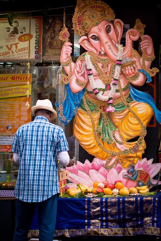 Destination La Chapelle voyage en Inde - Ganesh