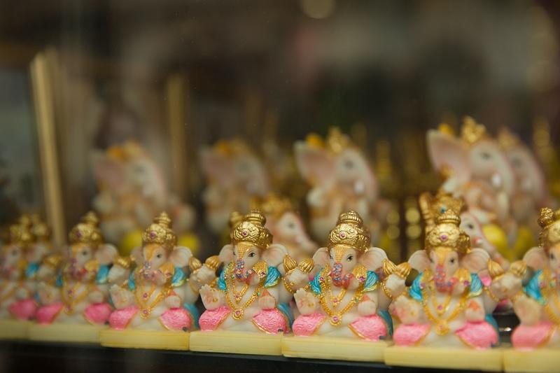 Voyage en Inde - Ganesha rue du FBg saint Denis