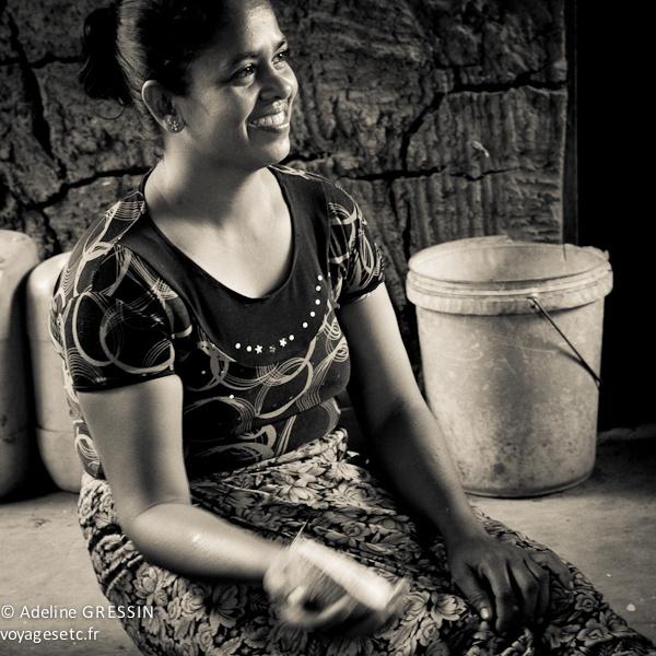 Sourire du Sri Lanka - Joie