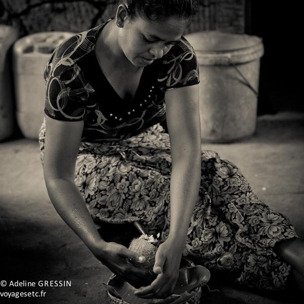 Sourire du Sri Lanka - La coco