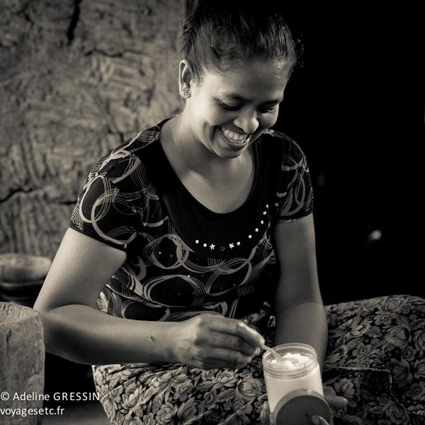 Sourire du Sri Lanka - un sourire
