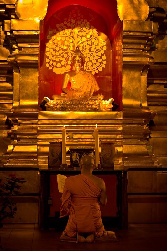 Chiang Mai - Prière