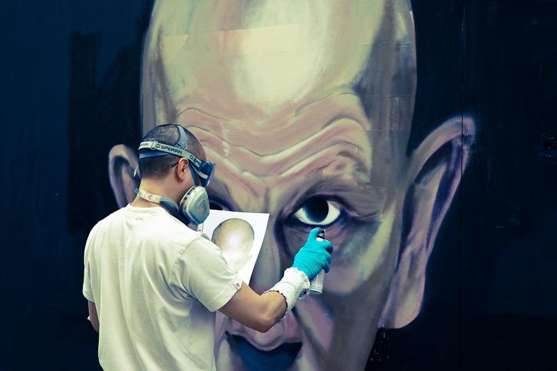 Street art a Londres - Painting