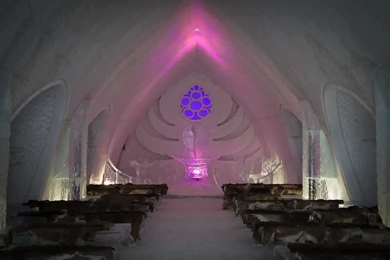 Hotel de glace - La Chapelle