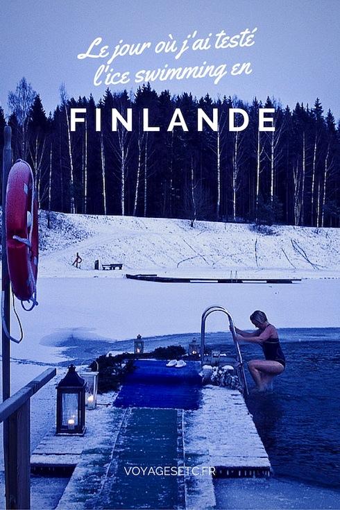 S'il y a un sport à tester en Finlande, c'est bien l'ice swimming. J'ai eu l'occasion de le tester à Porvoo, un moment en compagnie de locaux, une expérience très sympa.