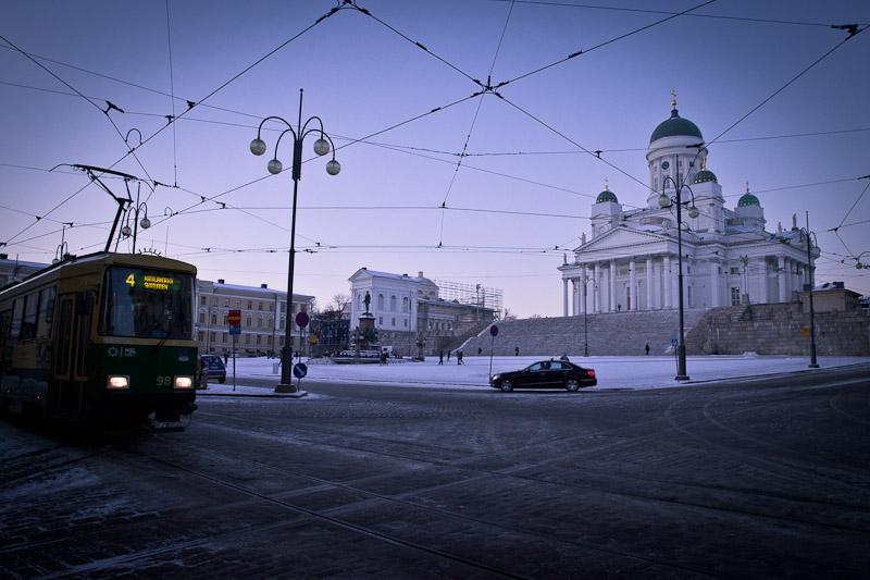 10 vues sur Helsinki - La cathédrale