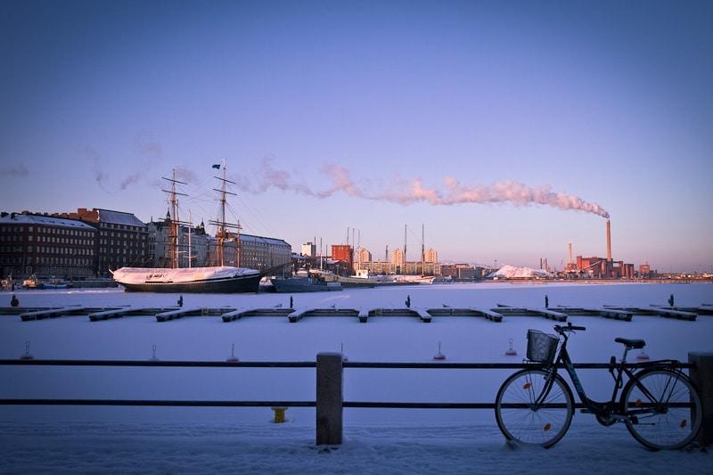 10 vues sur Helsinki - Le vélo