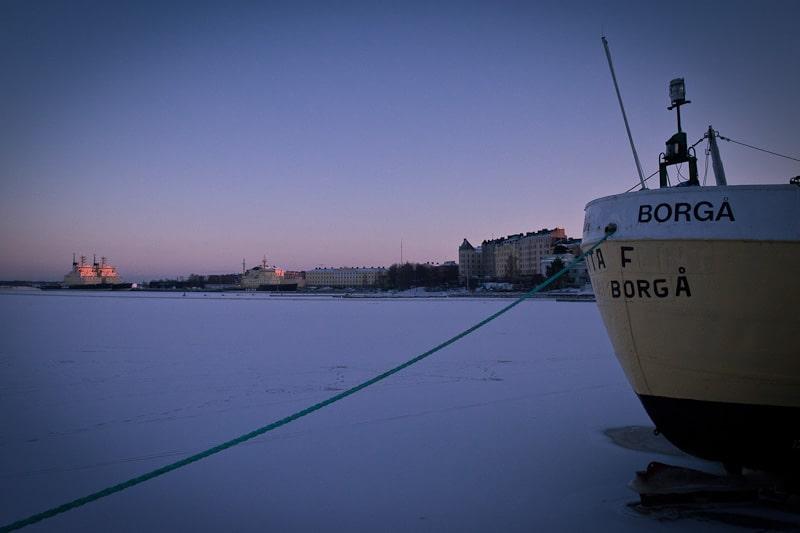10 vues sur Helsinki - le port