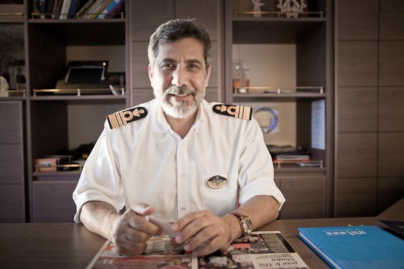 Commandant de bord du MSC Musica