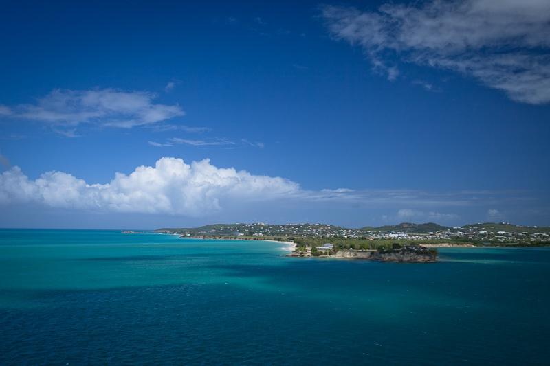 Croisiere dans les caraibes - arrivée à Antigua