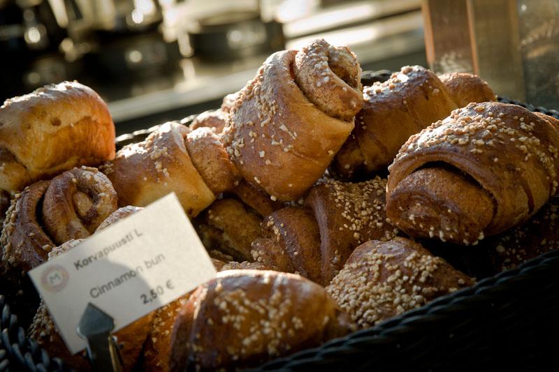 Helsinki - cinnamon bun