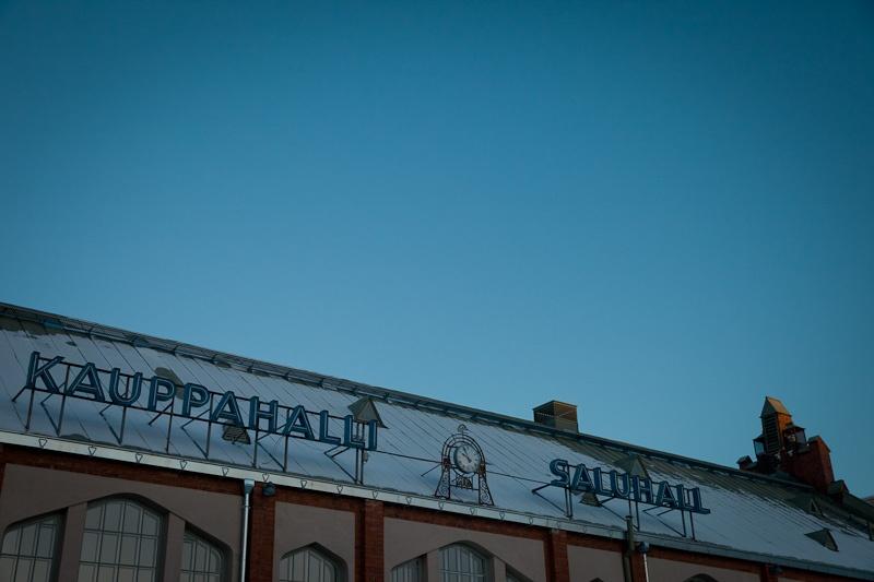 Helsinki - marché couvert