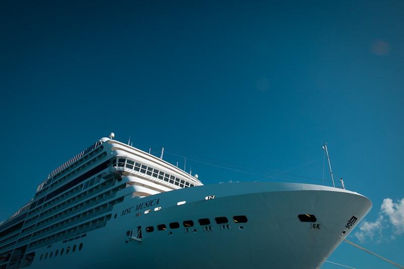 MSC Musica - dans le port de la Romana