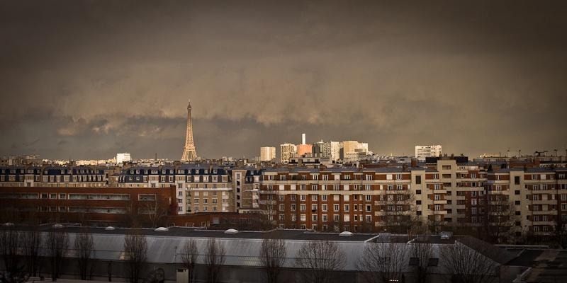 La tour eiffel se fache - Paris