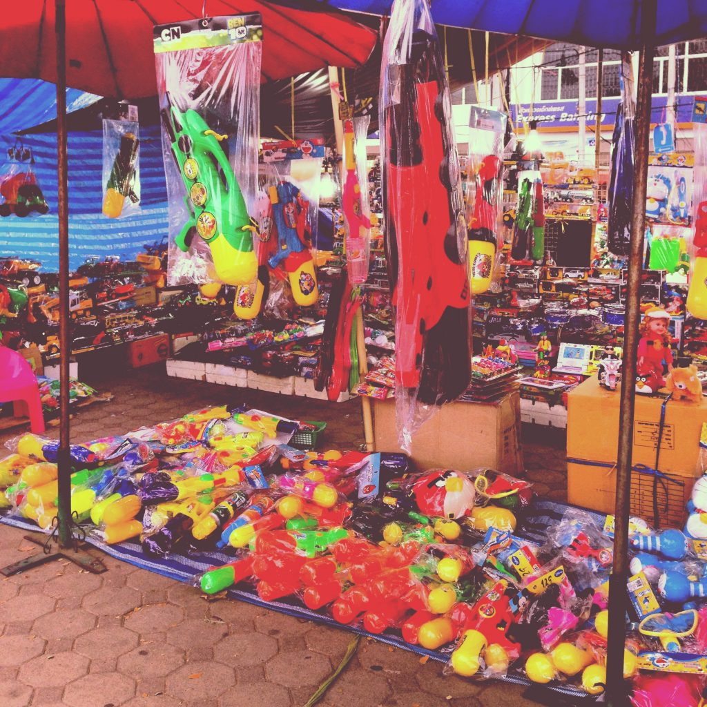 Phimai On prepare Songkran