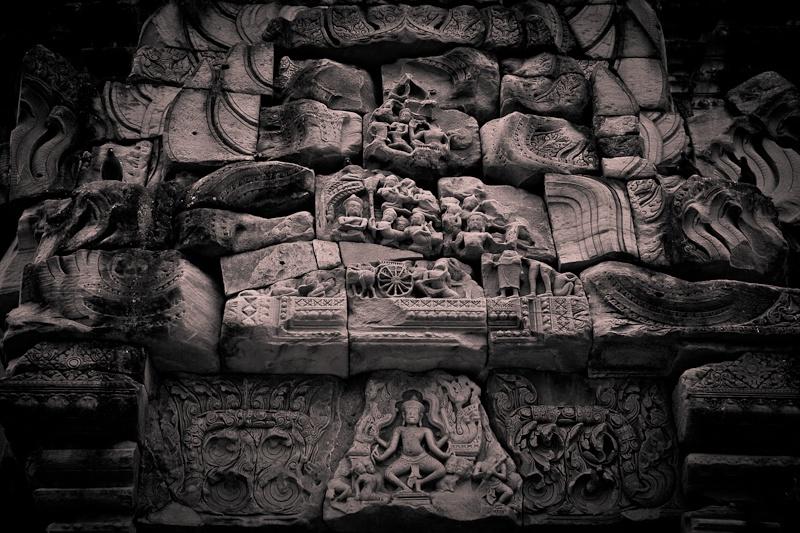 Phimai - détail du temple